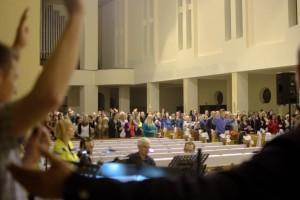 Czuwanie przed Zesłaniem Ducha Świętego w Gliwicach